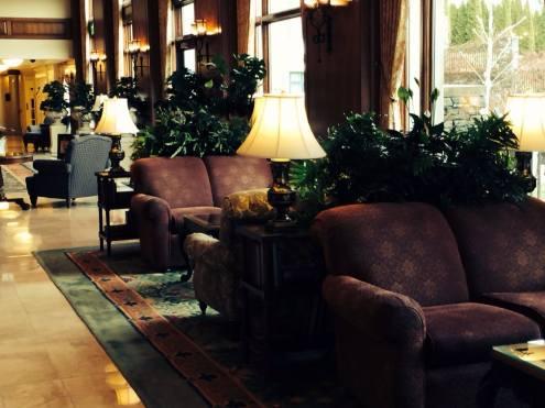 lobby of inn